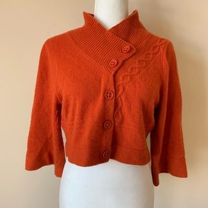 Anthropologie Guinevere crop sweater #886
